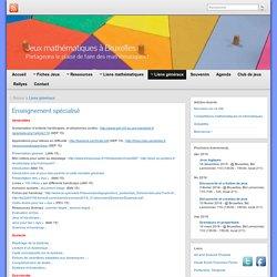 Enseignement spécialisé » Jeux mathématiques à Bruxelles