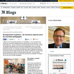 Enseignement supérieur : de nouveaux espaces pour de nouvelles pédagogies