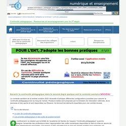 e-lyco - Des outils pour assurer la continuité pédagogique