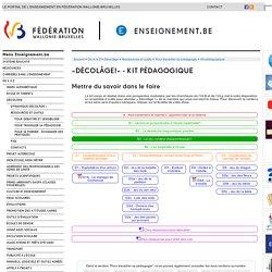 Projet Décolâge - Kit pédagogique