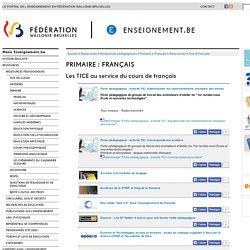 Enseignement.be - Les TICE au service du cours de français