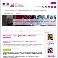 Numération : enseignement en éducation prioritaire