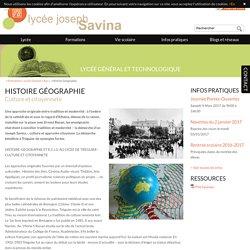 Lycée d'enseignement général et professionnel - Histoire Géographie - Lycée Savina