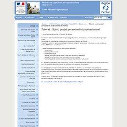 Pôle d'enseignement et de formations de Tours-Fondettes: Tutorat : suivi, projet personnel et professionnel de l'élève