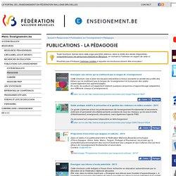 Publications - la pédagogie