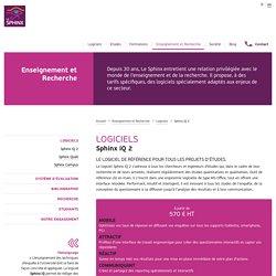 Enseignement et recherche : logiciel Sphinx iQ