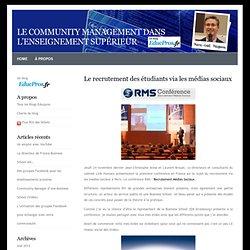 Le community management dans l'enseignement supérieur » Blog Archive » Le recrutement des étudiants via les médias sociaux