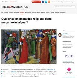 Quel enseignement des religions dans uncontextelaïque?