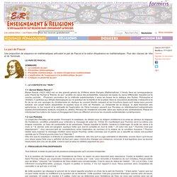 Article single - Enseignement et religions - Formiris