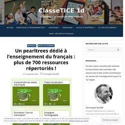 Un pearltrees dédié à l'enseignement du français : plus de 700 ressources répertoriés ! – ClasseTICE 1d