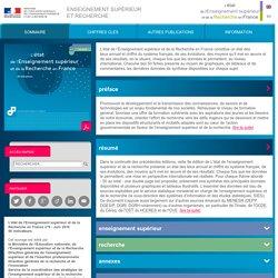 L'état de l'Enseignement supérieur et de la Recherche en France n°9 - Juin 2016