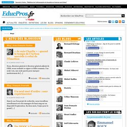 Les blogs EducPros au service de l'enseignement supérieur - Educpros.fr