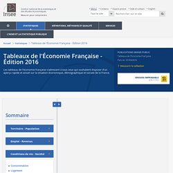 Enseignement supérieur−Tableaux de l'Économie Française - Édition 2016