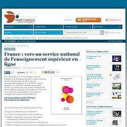 France : vers un service national de l'enseignement supérieur en ligne ?