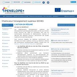 Charte pour l'enseignement supérieur (ECHE)
