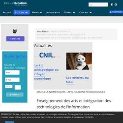 Enseignement des arts et intégration des technologies de l'information