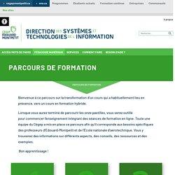 """Parcours de formation """"Du présentiel à l'enseignement hybride au CEM"""""""