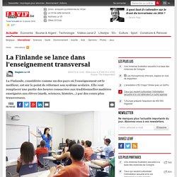 La Finlande se lance dans l'enseignement transversal