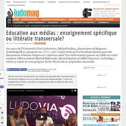 Numérique : enseignement spécifique ou littératie transversale? - Ludovia Magazine