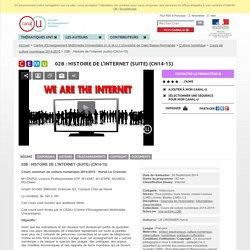 Histoire de l'Internet (C.E.M.U.)