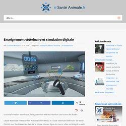 Enseignement vétérinaire et simulation digitale - e-Santé Animale