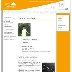 Les Arts Plastiques - Fédération des enseignements artistiques Martenot