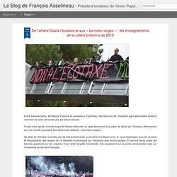 De l'affaire Gad à l'écotaxe et aux « bonnets rouges » : les enseignements de la colère bretonne de 2013