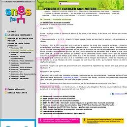 Syndicat National des Enseignements de Second degréPENSER ET EXERCER SON METIER Nos métiers - Nos disciplines - Nos statuts