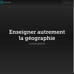 Enseigner autrement la géographie