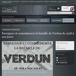 Enseigner et commémorer la bataille de Verdun de 1918 à nos jours