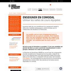 Enseigner en comodal - (Univ. Jean Monnet, St Etienne)