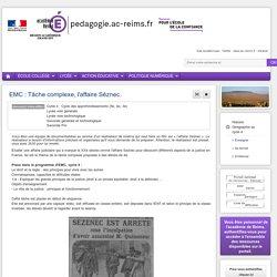 Enseigner Hist-Géo cycle 4 - EMC : Tâche complexe, l'affaire Séznec.
