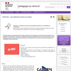Enseigner Documentation lycée - Info/Infox : une sélection de jeux en ligne