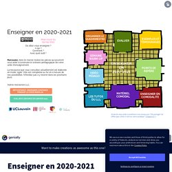 Enseigner en 2020-2021 by Louvain Learning Lab on Genially