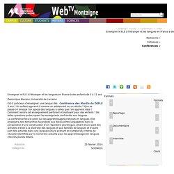 Enseigner le FLE à l'étranger et les langues en France à des...