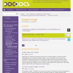 Enseigner Google - Doc pour docs