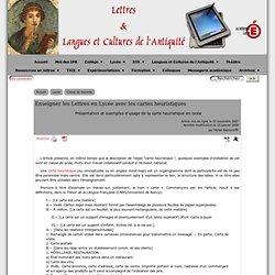 Cartes heuristiques - Lycée