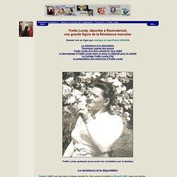 Histoire et mémoire de la déportation - Yvette Lundy et le film Liberté de Tony Gatlif