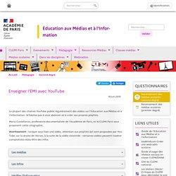 Enseigner l'EMI avec YouTube