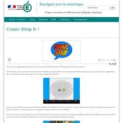 Enseigner avec le numérique - Comic Strip It !