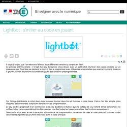 Enseigner avec le numérique - Lightbot : s'initier au code en jouant