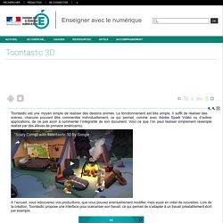 Enseigner avec le numérique - Toontastic 3D