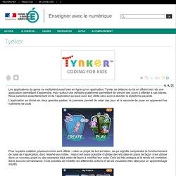 Enseigner avec le numérique - Tynker