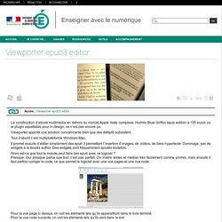 Enseigner avec le numérique - Viewporter epub3 editor