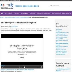 Enseigner la révolution française