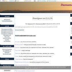 Enseigner en U.L.I.S. - Damanou