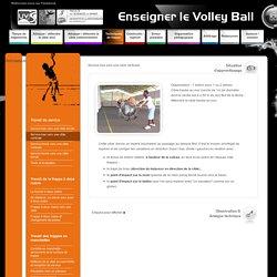 Enseigner le volley-ball - les techniques de frappe