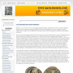 Les enseignes militaires romaines