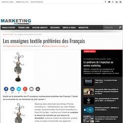 Les enseignes textile préférées des Français