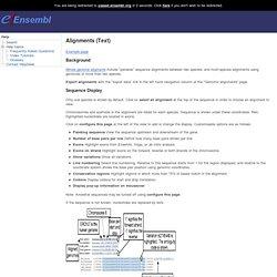 genome browser 57: Homo sapiens - -